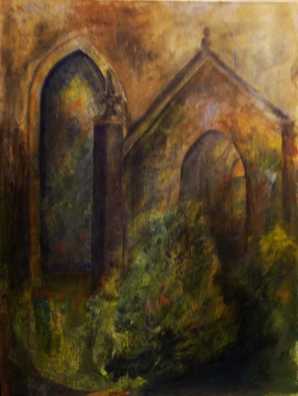 Using the features I liked of Biggar Kirk in this 'fanciful' view