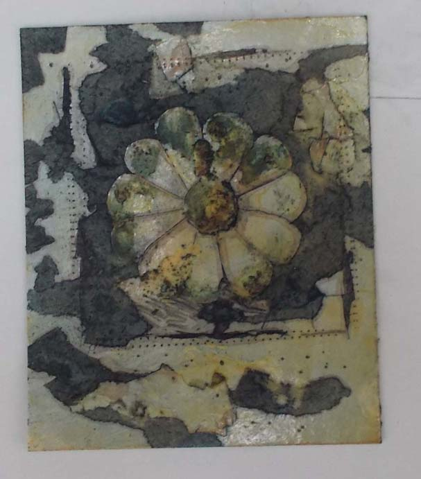 One of my Collagraph plates