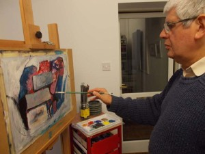 Ken 1st painting session 2