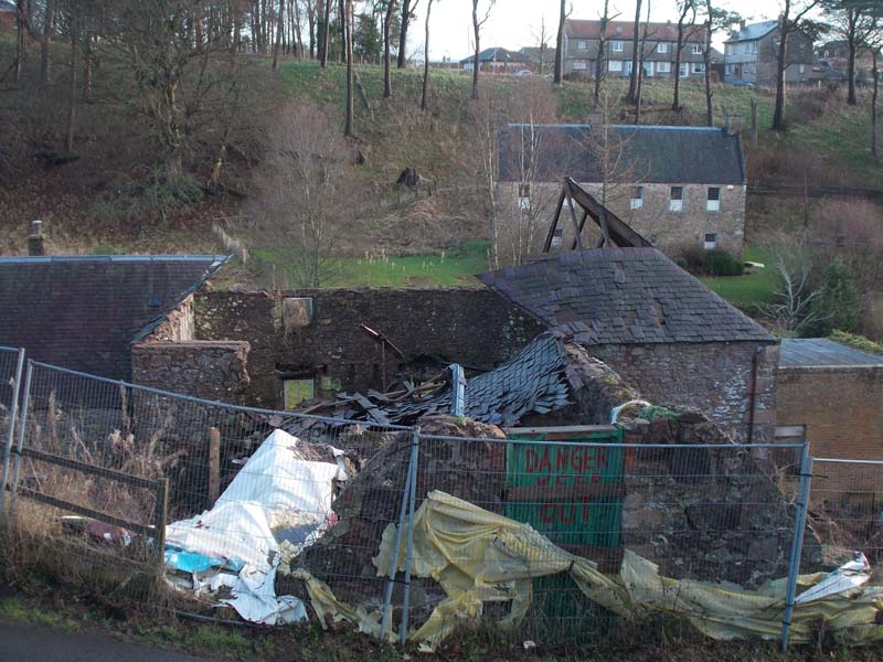 Photo of the old mill, Biggar 2015 overview