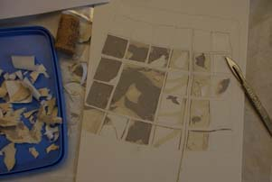 collagraph cutting