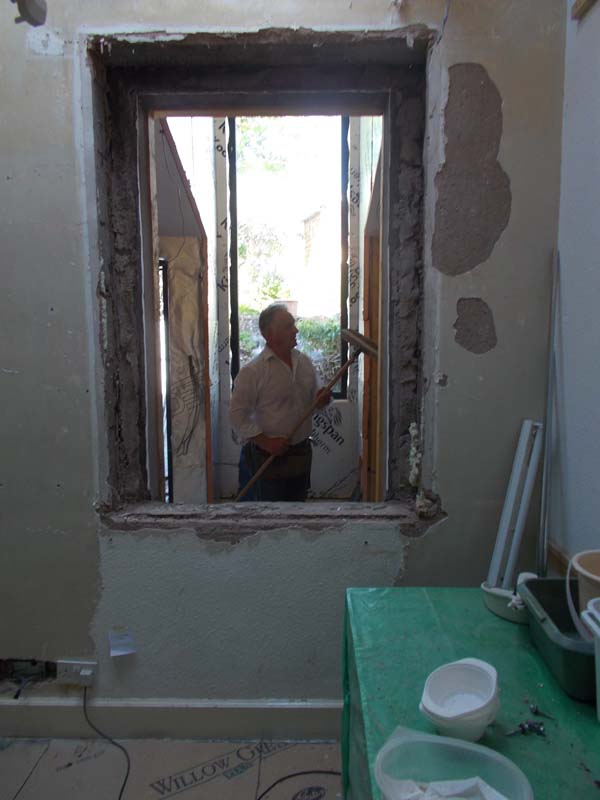mm) the old window is removed 1